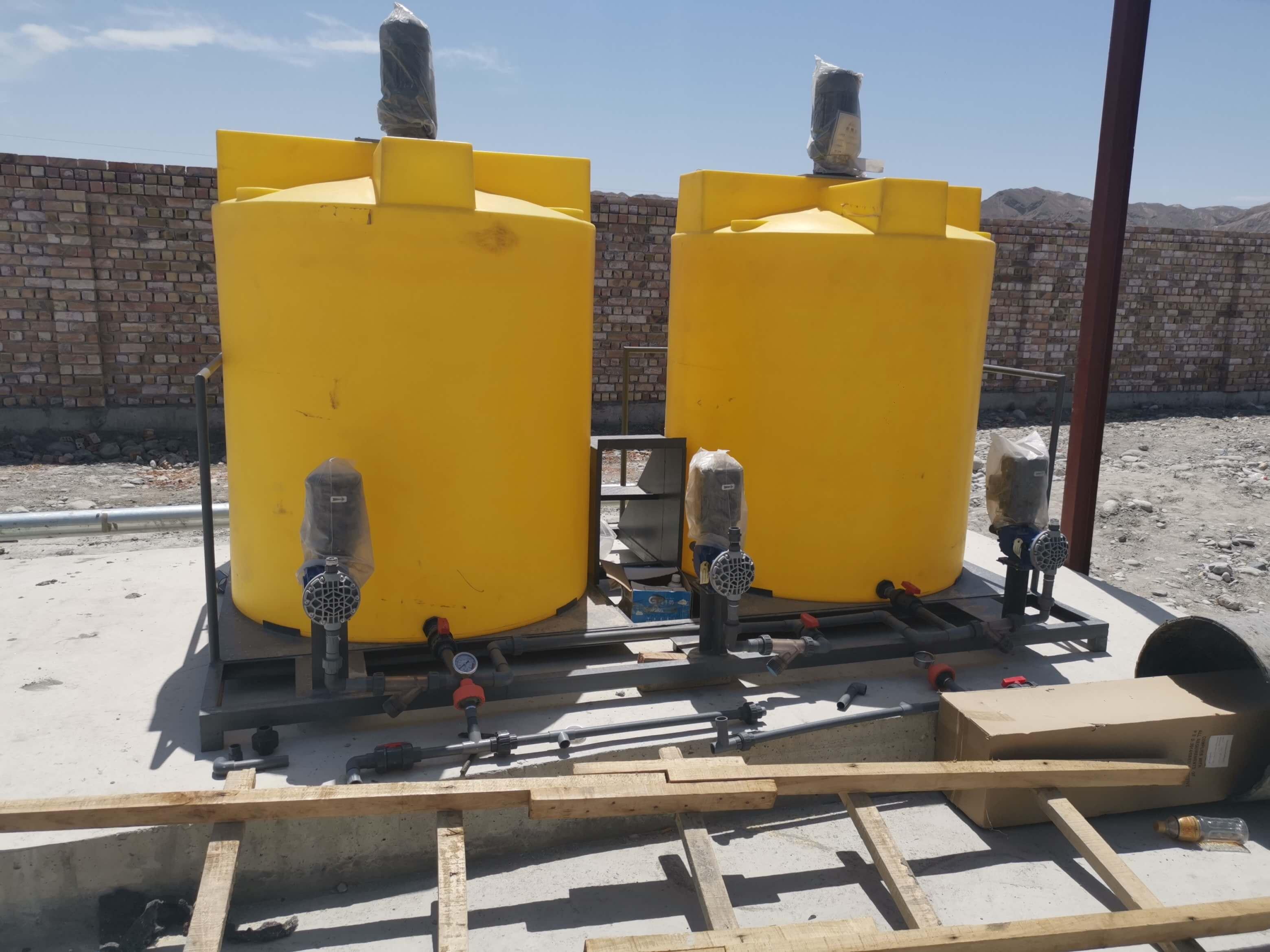 疏附县水源水量补充改建工程-设备安装
